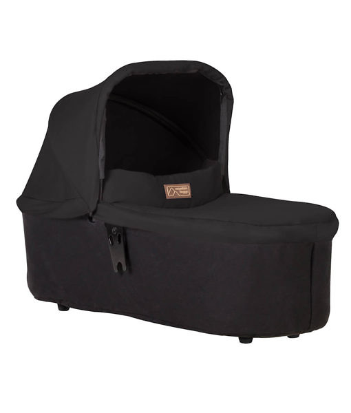 Mountain-Buggy-carrycot-plus-in-black-colour