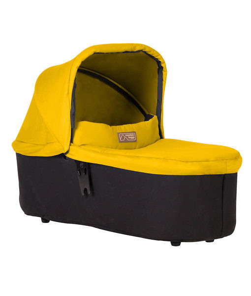Mountain-Buggy-carrycot-plus-in-gold-colour