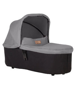 Mountain-Buggy-carrycot-plus-in-silver-colour